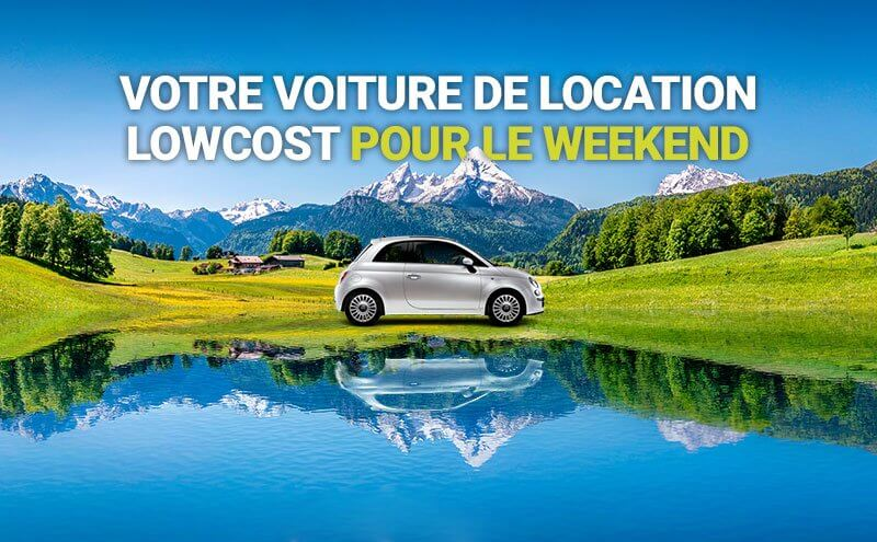 location voiture weekend